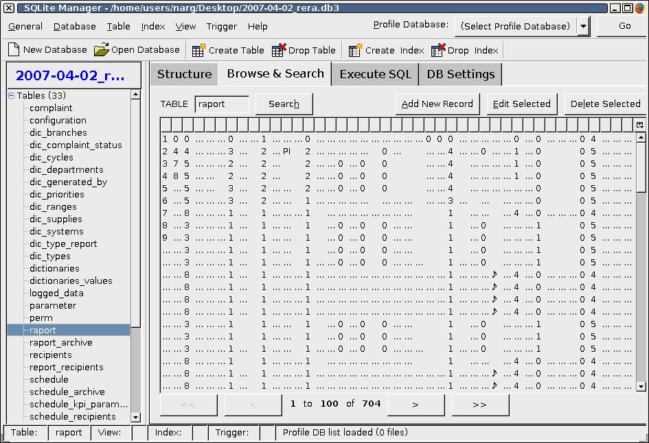 SQLite Manager - Extension for Firefox, Sunbird, Flock, etc